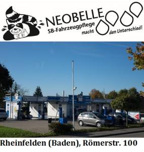 Neobelle-Logo Bild sw